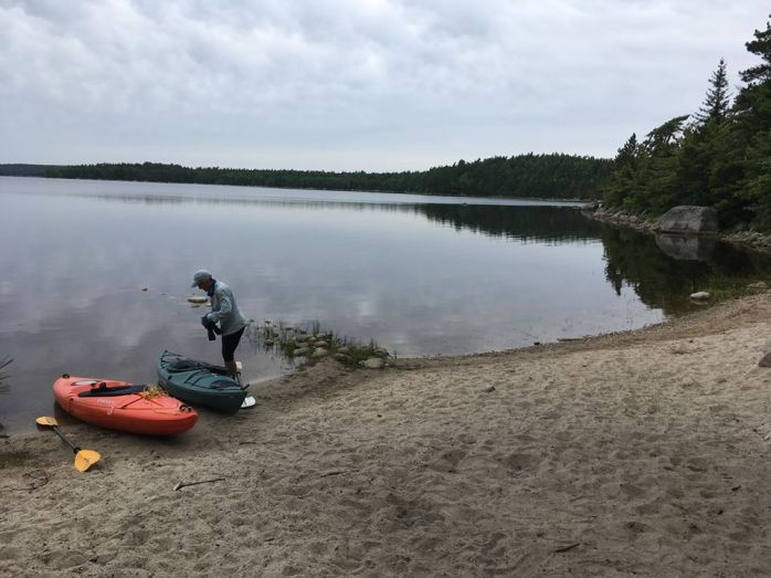keji kayak2017#32on Pesciwesk-Lake.